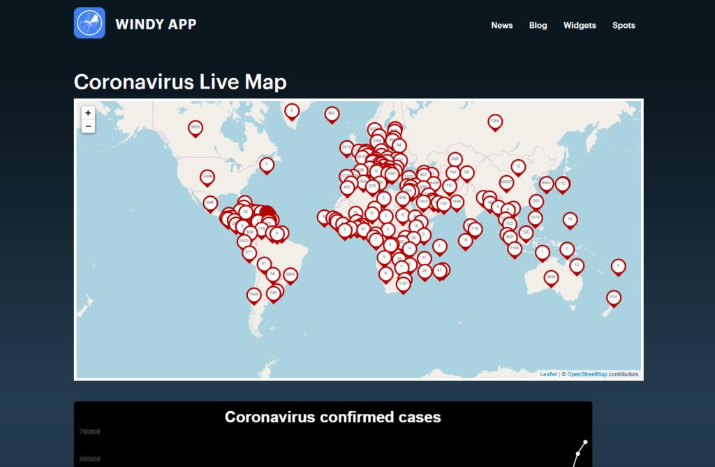 Coronavirus Live counting