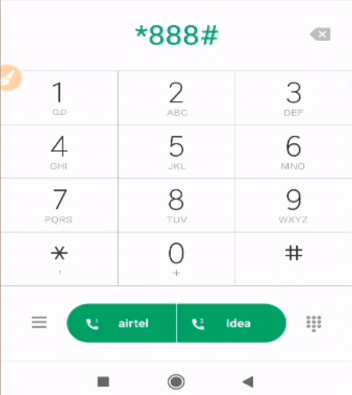 Check BSNL Number Using USSD Codes