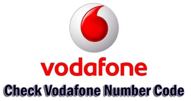 Check Vodafone Number Code ussd
