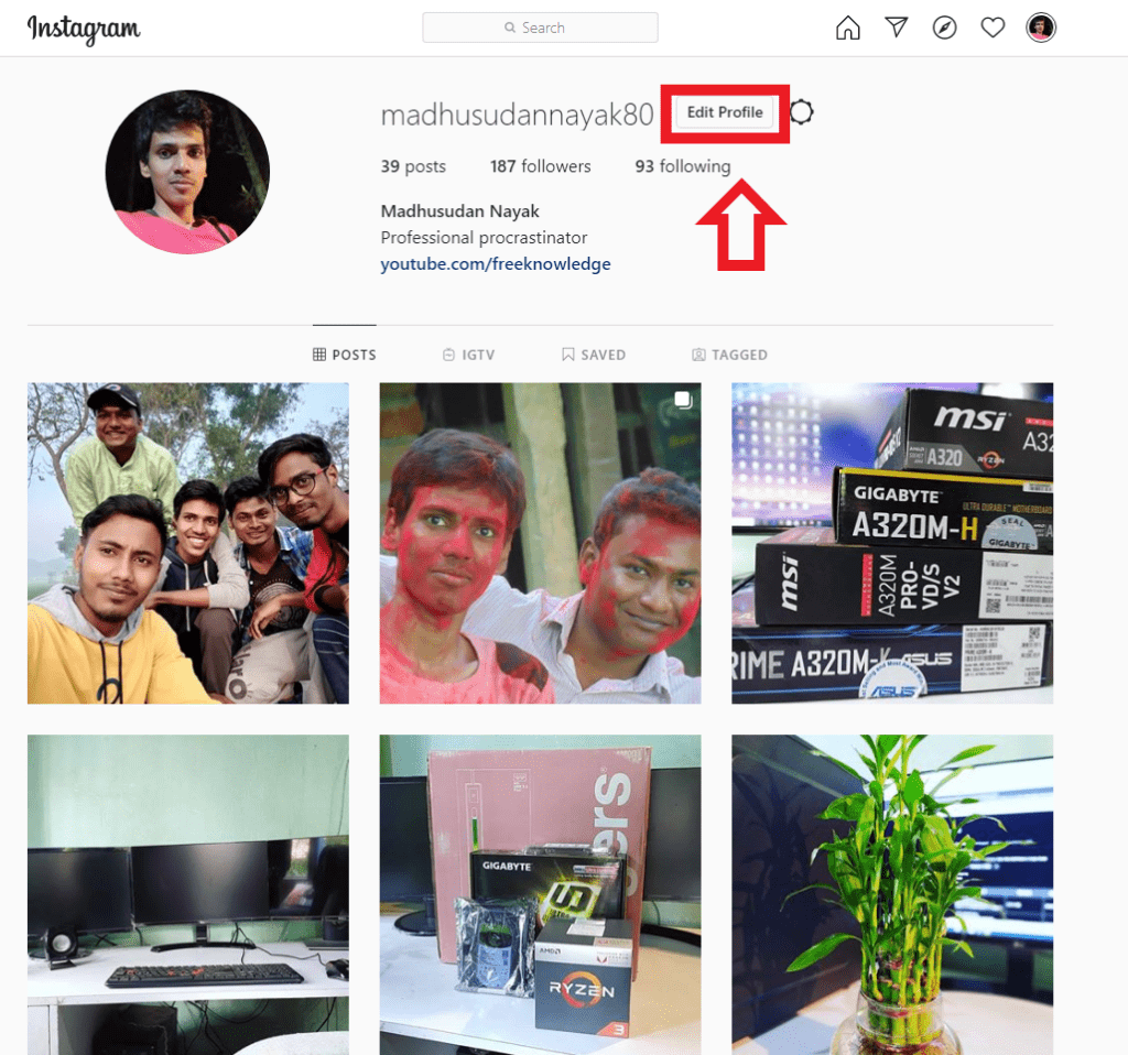 How to temporarily disable, deactivate Instagram account