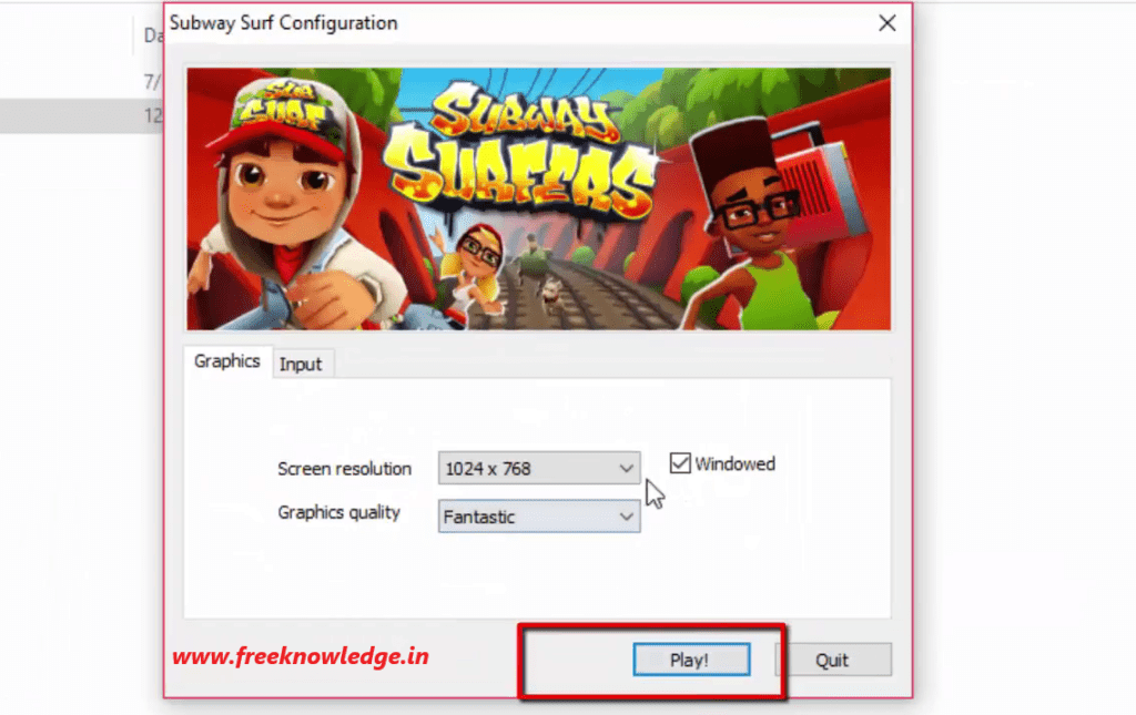 Subway Surfers for PC Windows