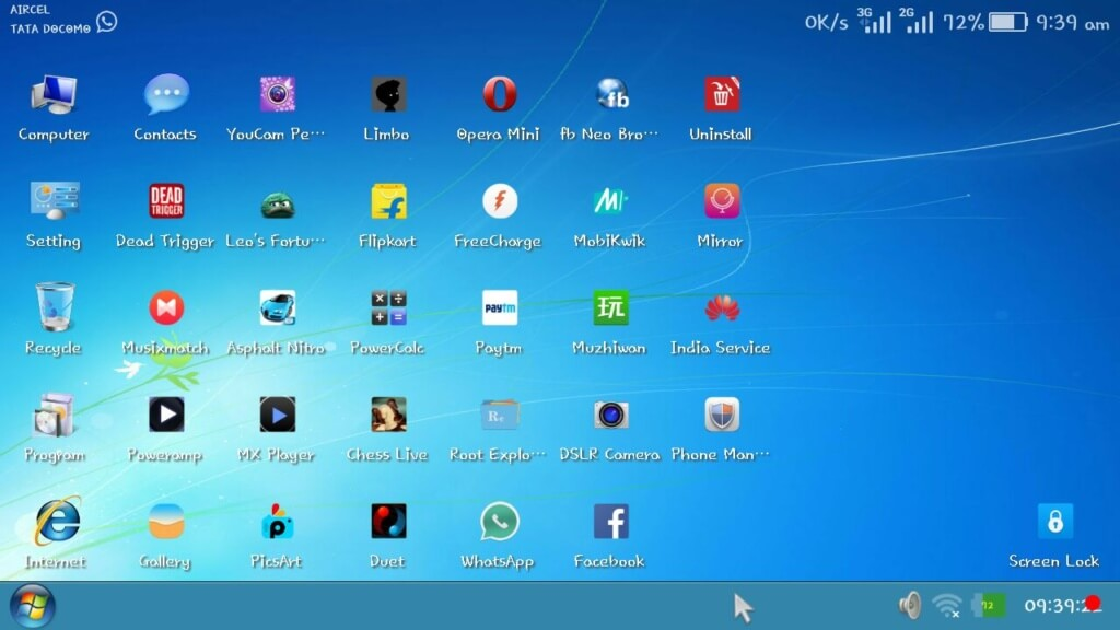 windows 7 for android apk full version free download