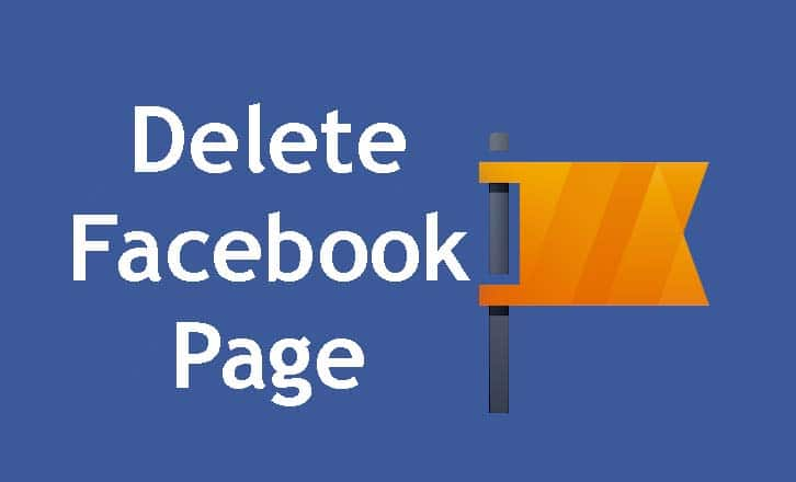 Delete Facebook Page Permanently