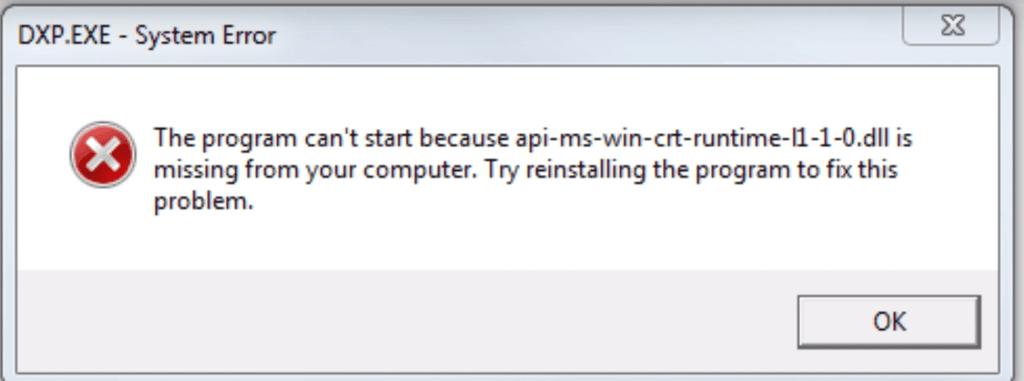 api-ms-win-crt-runtime-l1-1-0-dll