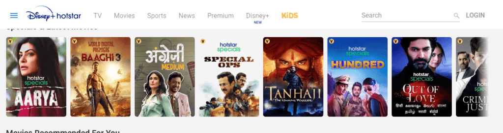 hotstar tv on pc