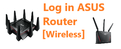 log in asus router